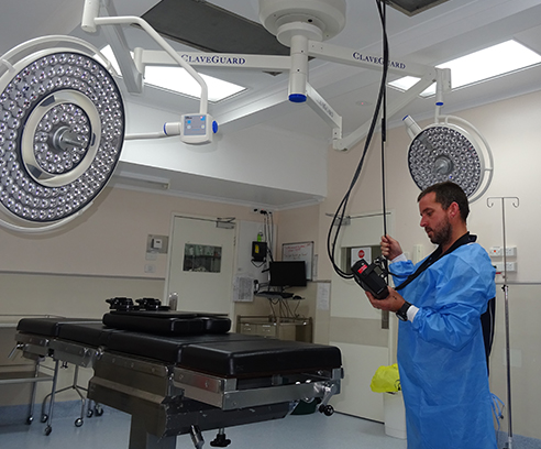 Operating Theatre/Clean Room/PC Labs